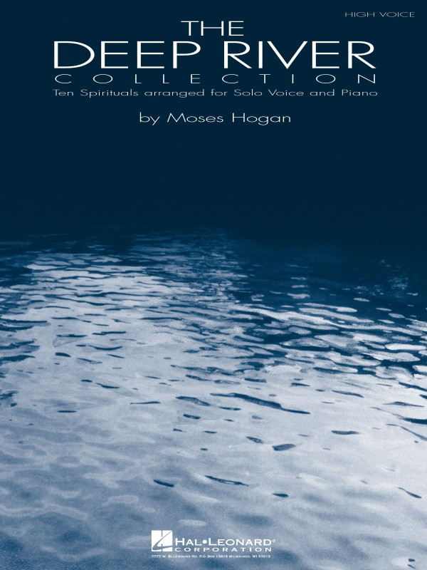 The Deep River Collection vocal sheet music cover