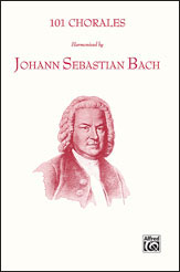 101 Chorales Harmonized by Bach