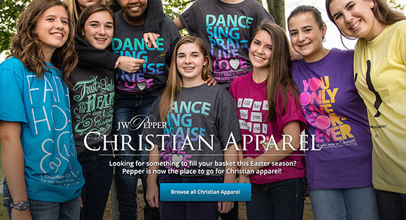 Christian Apparel from Pepper