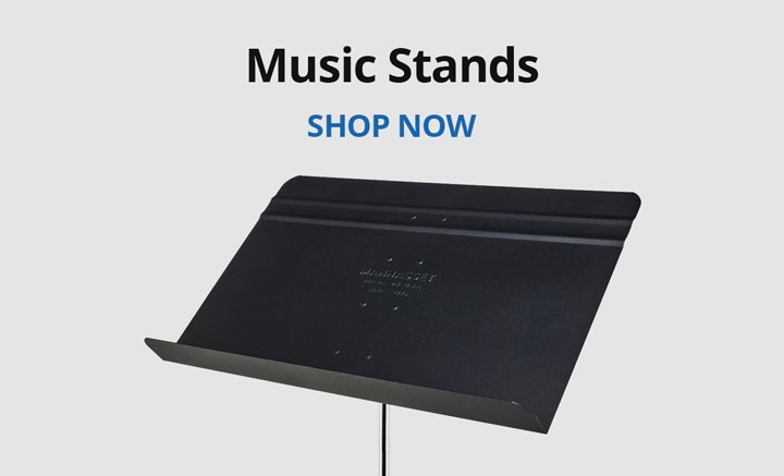 Shop music stands.