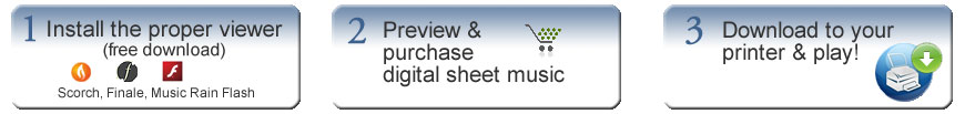 e-Print Sheet Music Immediate Download
