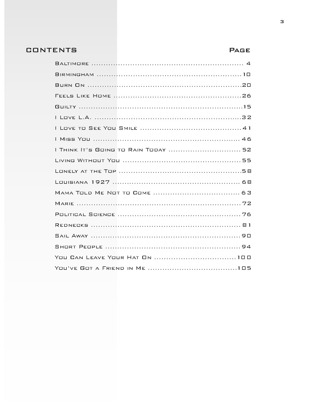 The Randy Newman Guitar Songbook By Randy Newman Jw Pepper Sheet