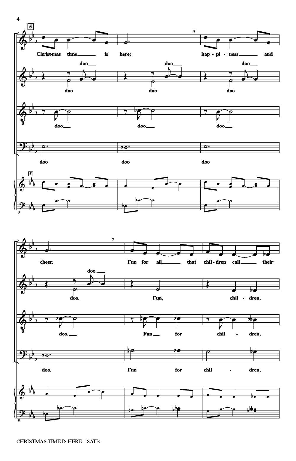 christmas time is here thumbnail - Christmas Time Is Here Sheet Music
