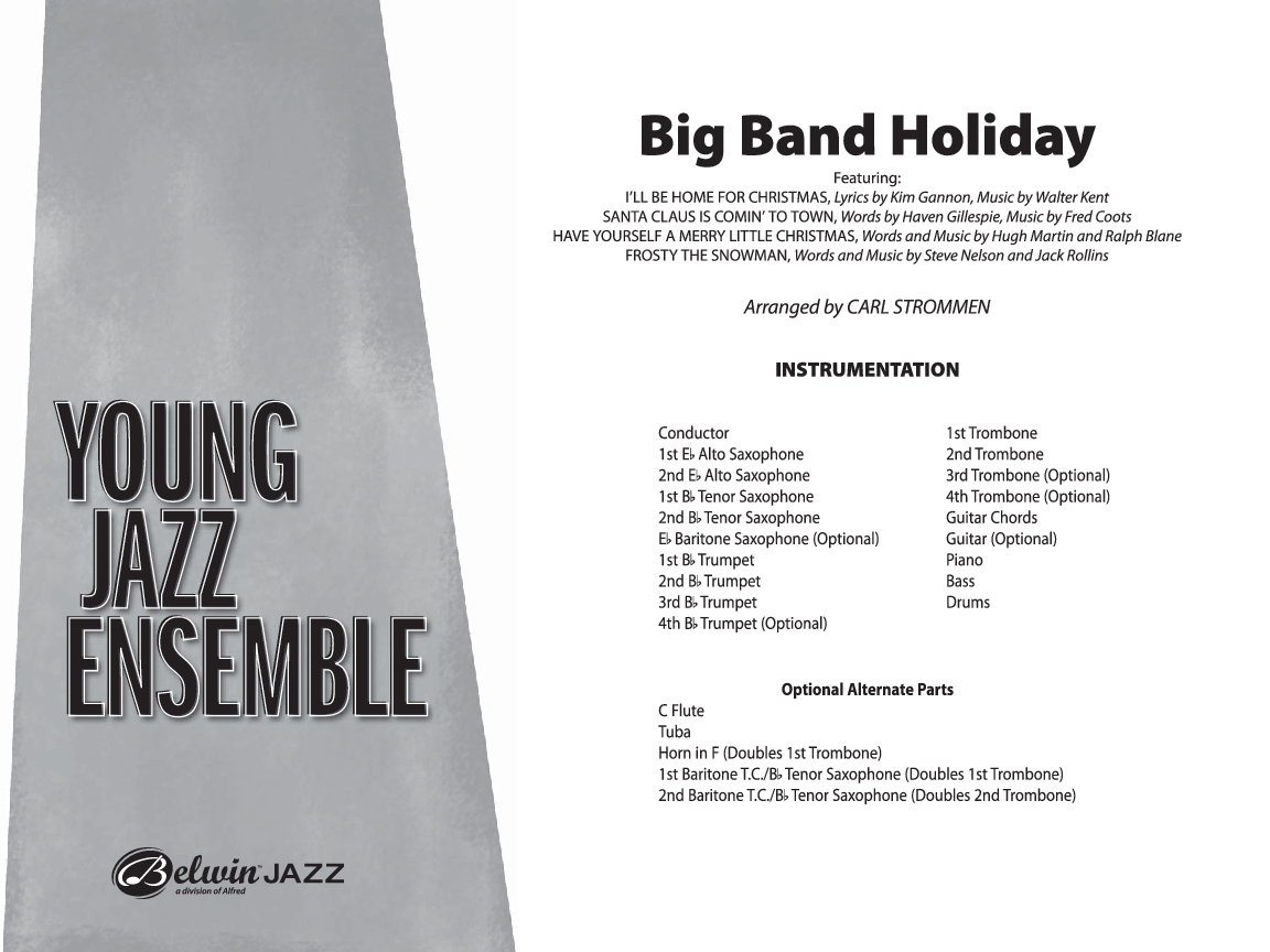 Big Band Holiday (Additional Score ) arr. Ca | J.W. Pepper Sheet Music
