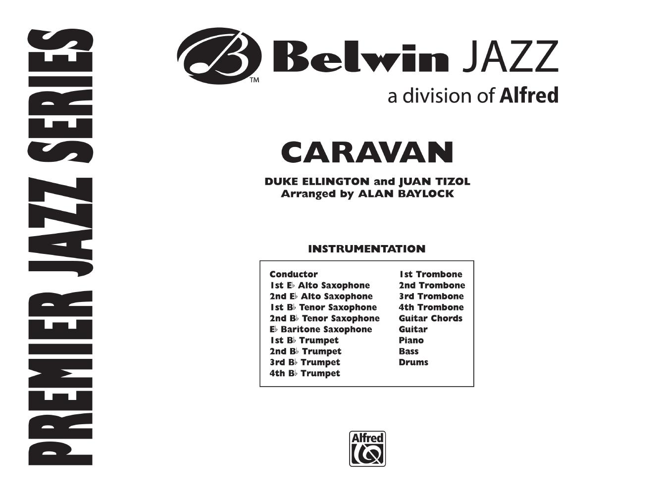 Caravan Additional Score By Ellington T Jw Pepper Sheet Music