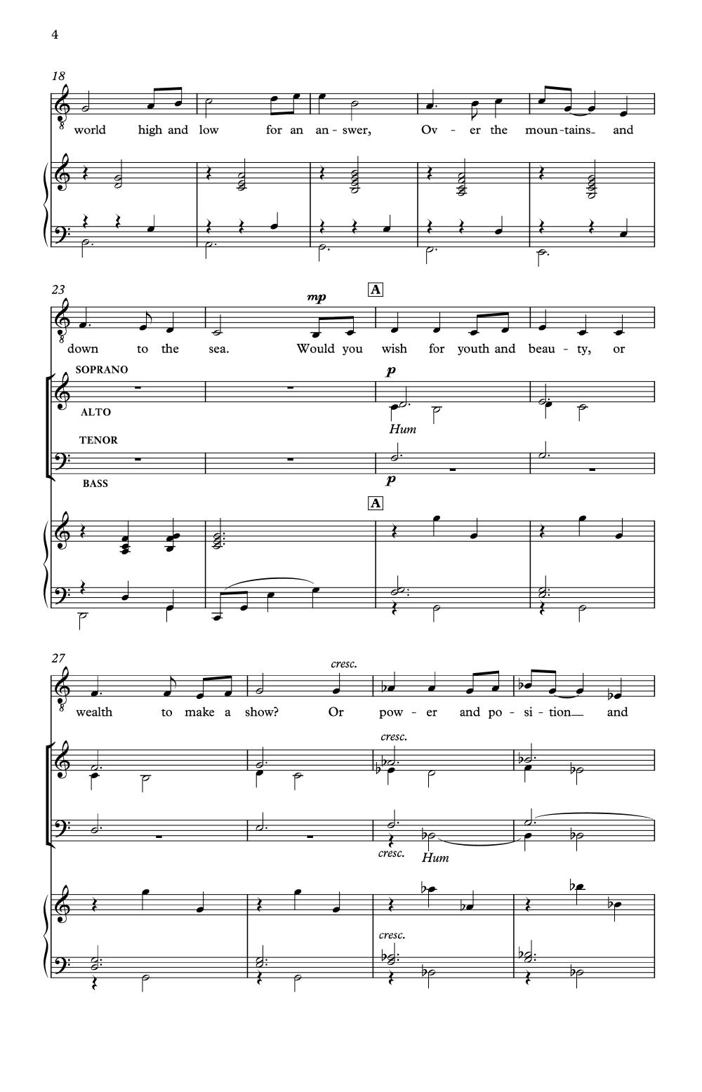 The Gift Of Music Satb By John Rutter Jw Pepper Sheet Music