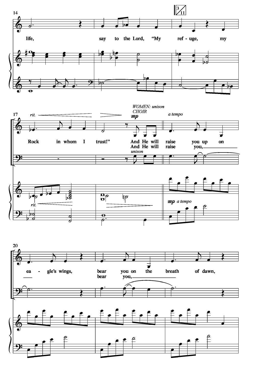 Eagles wings piano score array on eagles wings satb by michael joncas a j w pepper sheet music rh jwpepper com fandeluxe Gallery