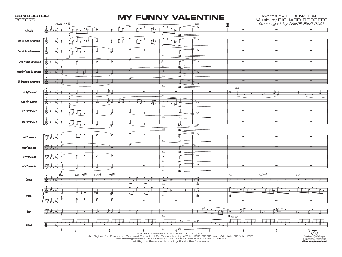 My funny valentine 2