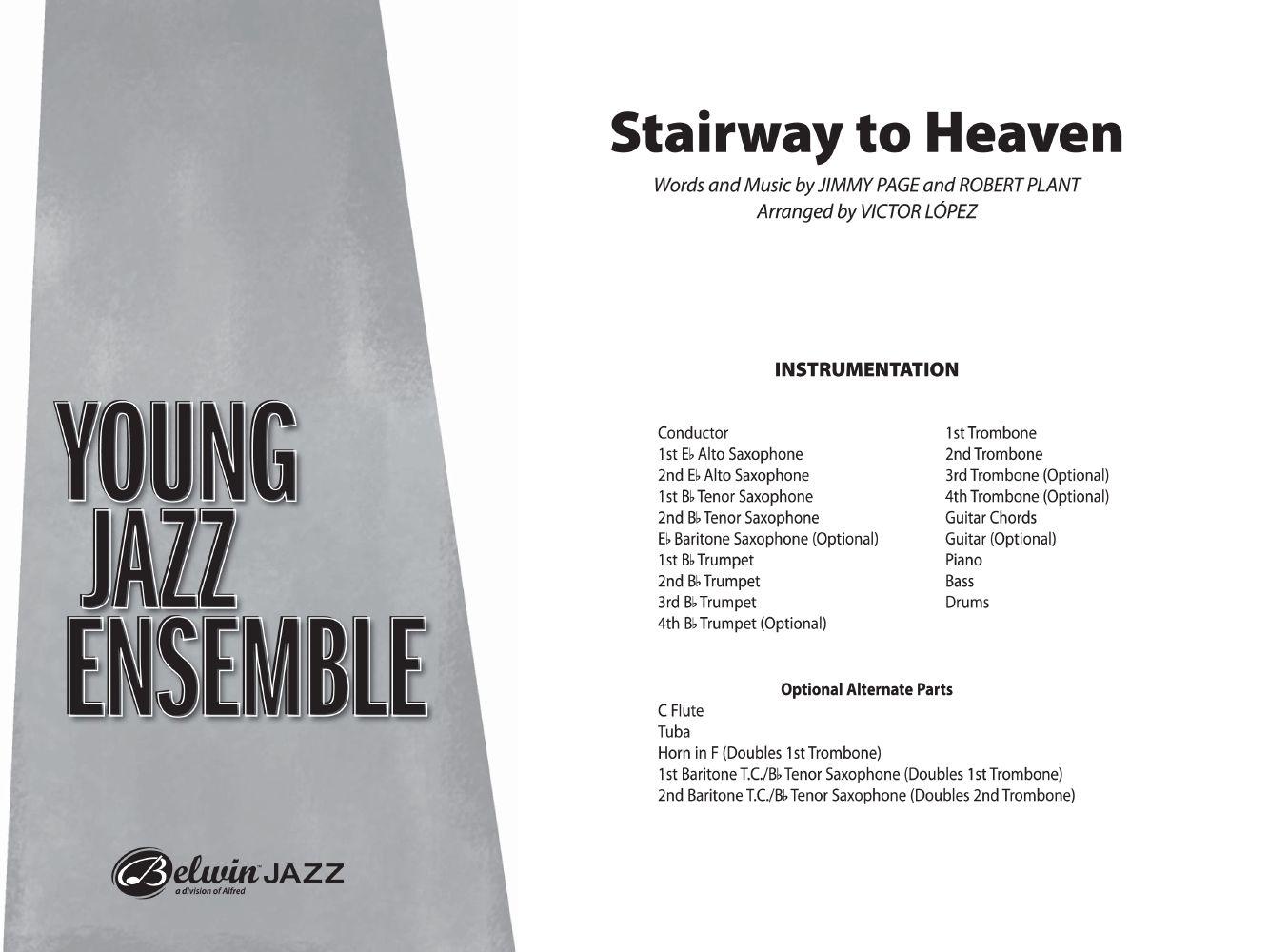 Stairway To Heaven Additional Score By Pa Jw Pepper Sheet Music