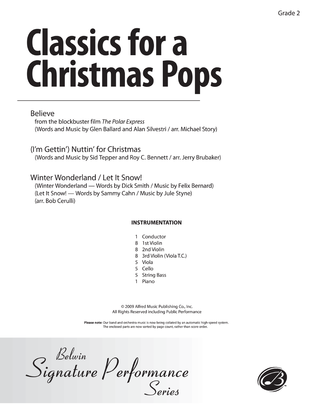 Classics for a Christmas Pops by Various Composers| J.W. Pepper ...