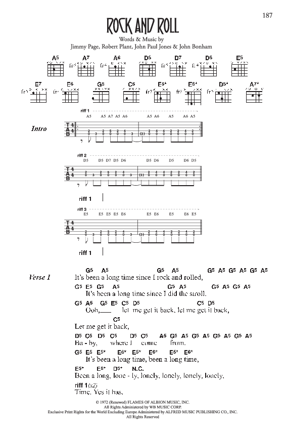 Led Zeppelin Complete Lyric And Chord Songbook By Jw Pepper