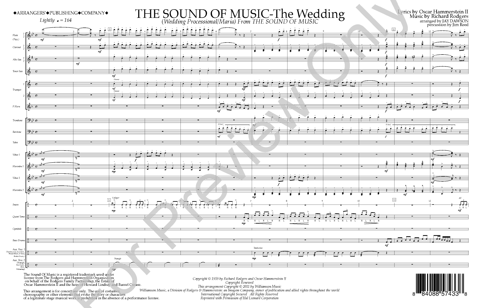 The sound of music the wedding score arr jay jw pepper the sound of music the wedding score arr jay jw pepper sheet music junglespirit Choice Image