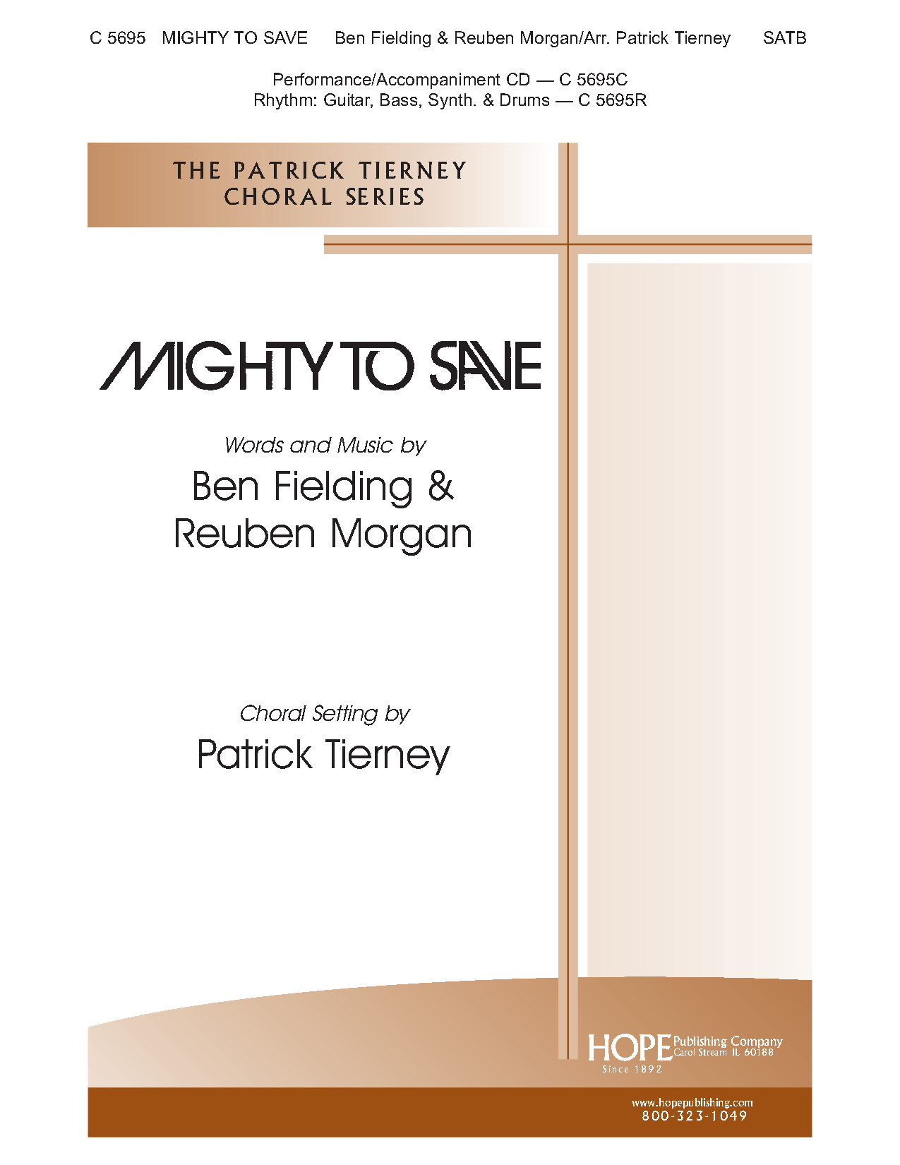 Mighty To Save Satb By Reuben Morgan Be Jw Pepper Sheet Music