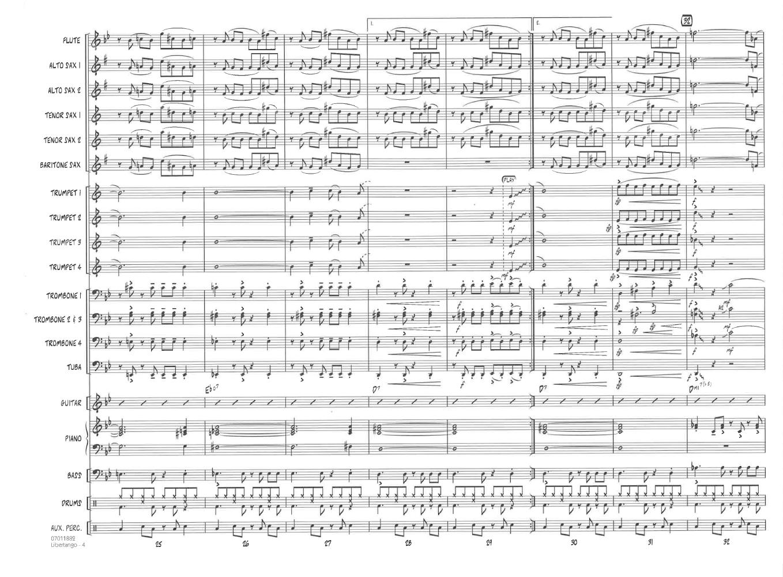 Piazzolla Libertango Orchestra Sheet music
