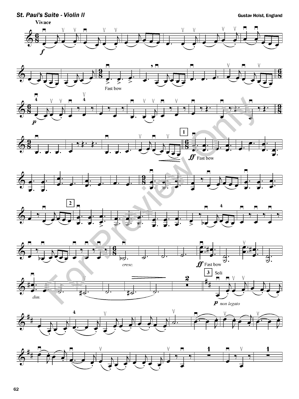 Expressive techniques for orchestra violin jw pepper sheet music fandeluxe Gallery