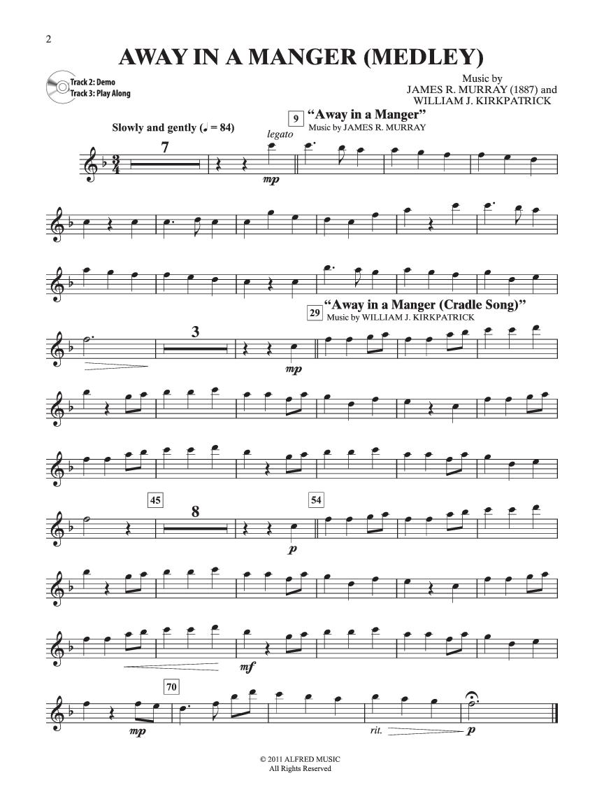 Easy Christmas Carols Instrumental Solos (Flute&n   J.W. Pepper ...