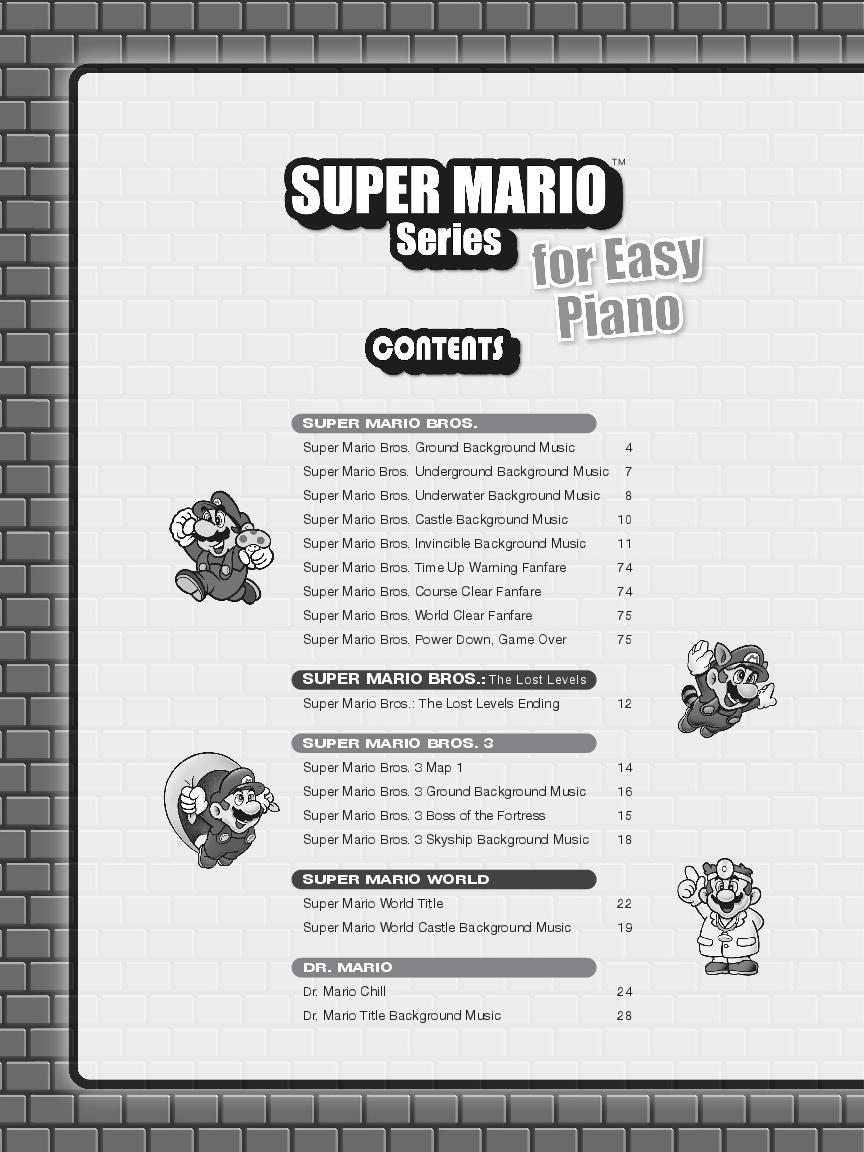 Super Mario Series Easy By Koji Kondo Sh Jw Pepper Sheet Music