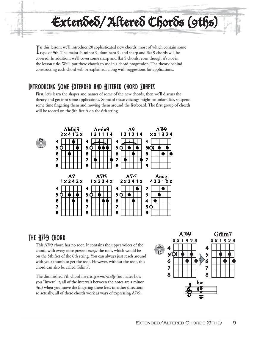 Serious Shred Advanced Chords By Tobias Hurwitz Jw Pepper Sheet Music