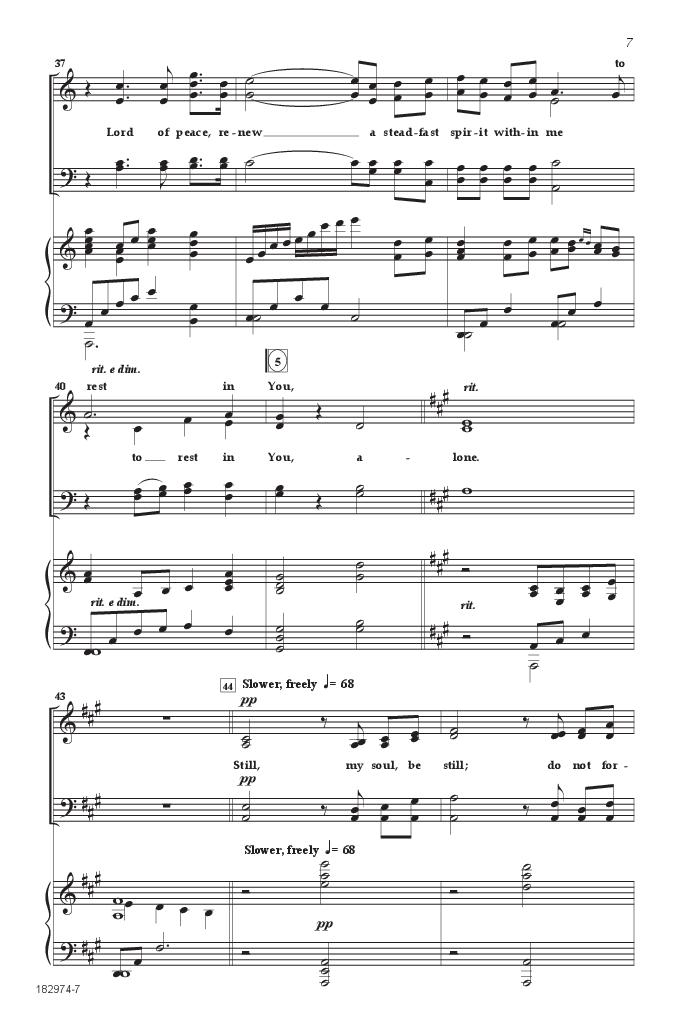 Still, My Soul, Be Still (SATB ) by Keith & | J.W. Pepper Sheet Music