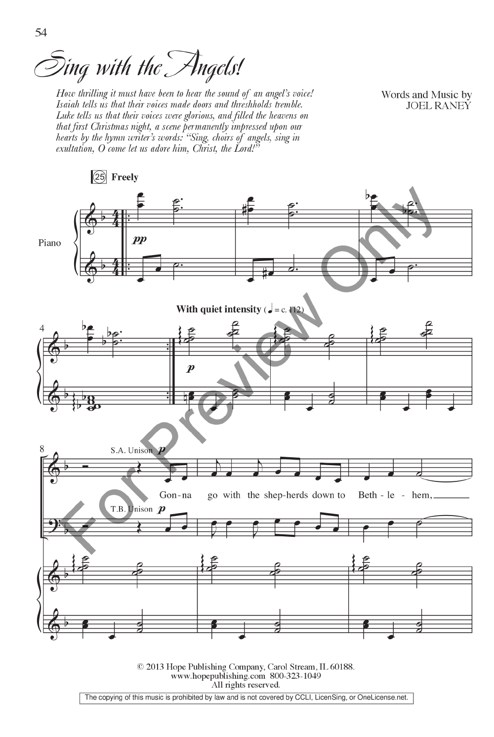 Sing With The Angels Satb Singers Edition Jw Pepper Sheet Music