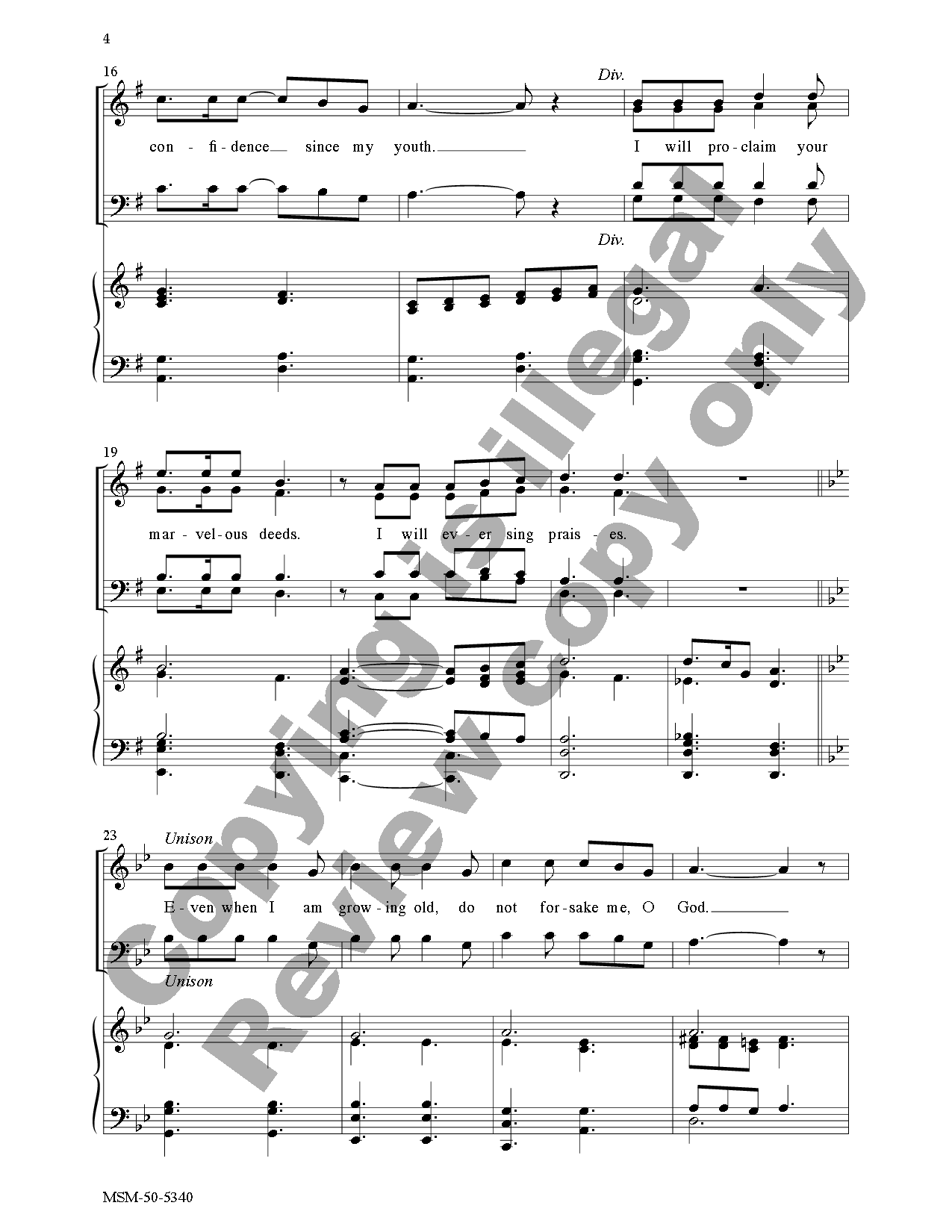 Awake My Soul And Sing Satb By Allen Pote Jw Pepper Sheet Music