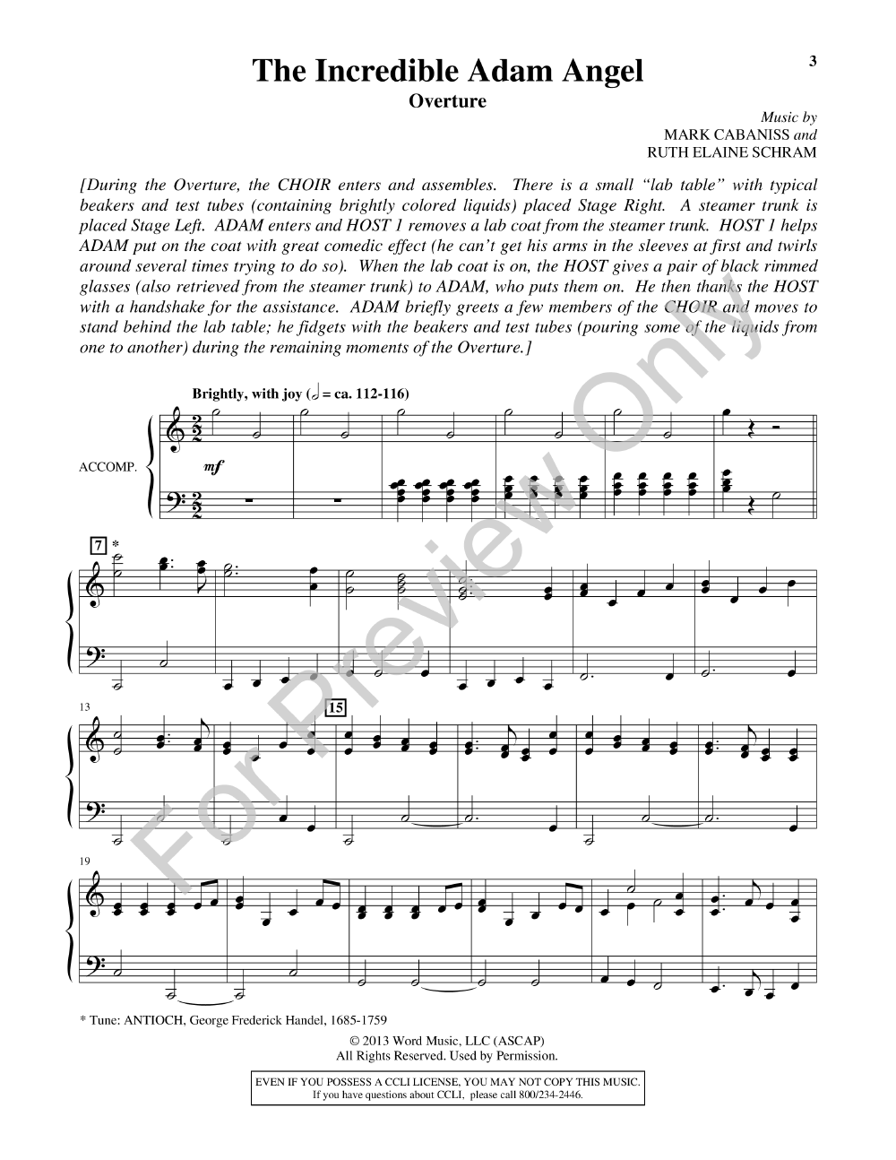 The Incredible Adam Angel Unisontwo Part C Jw Pepper Sheet Music