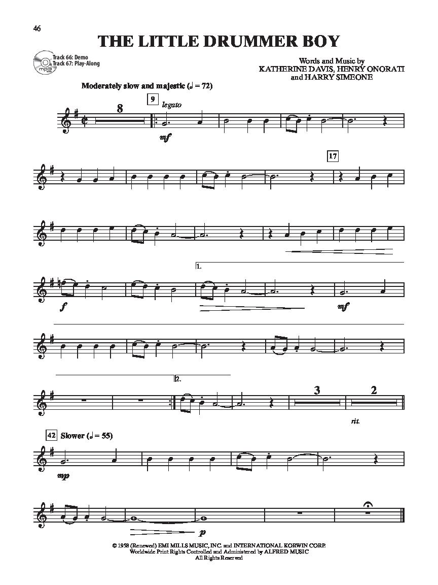 Ultimate Christmas Instrumental Solos (Clarinet&n   J.W. Pepper ...