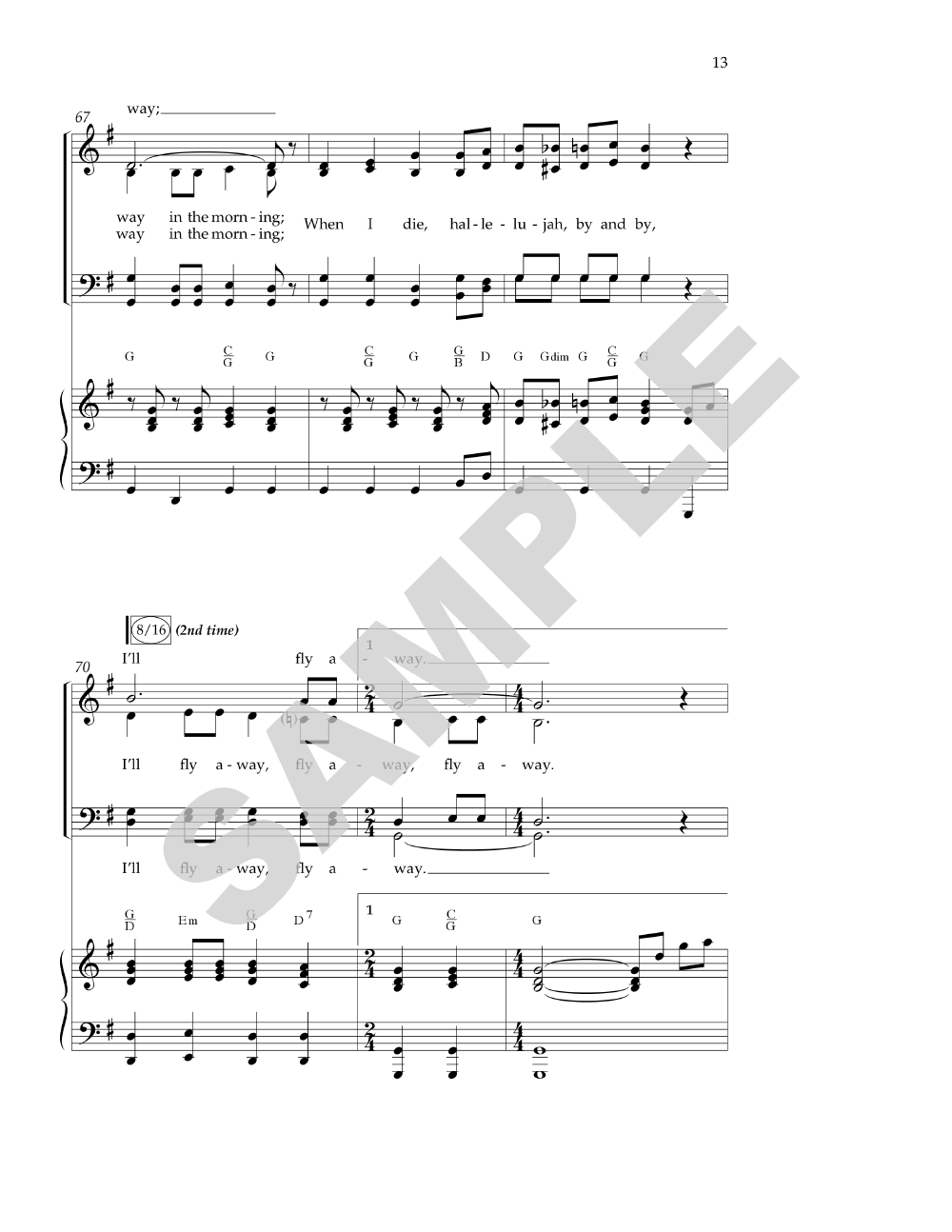 Heaven Medley (SATB ) by Various Composers/D | J.W. Pepper ...