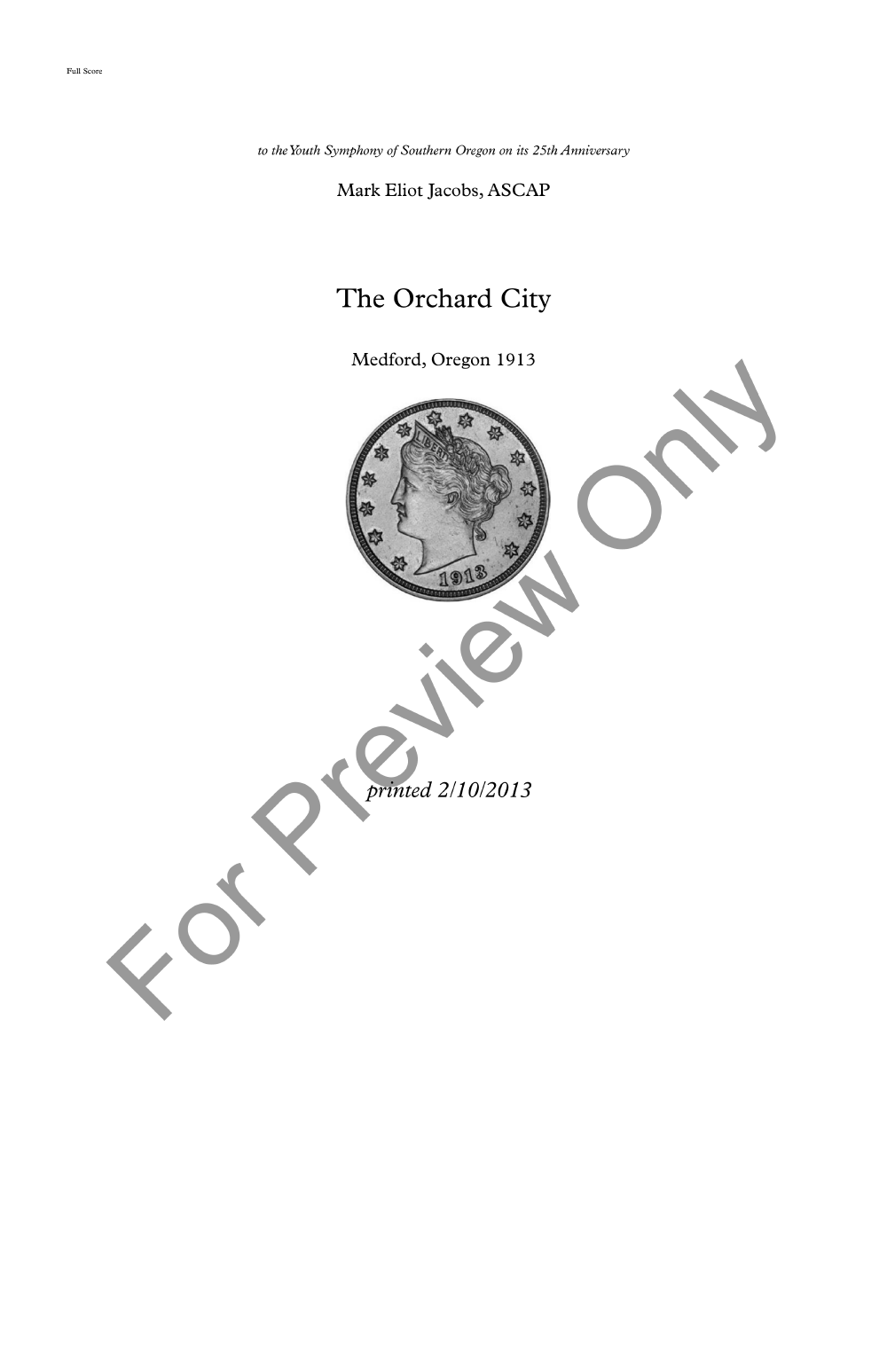 The Orchard City Thumbnail
