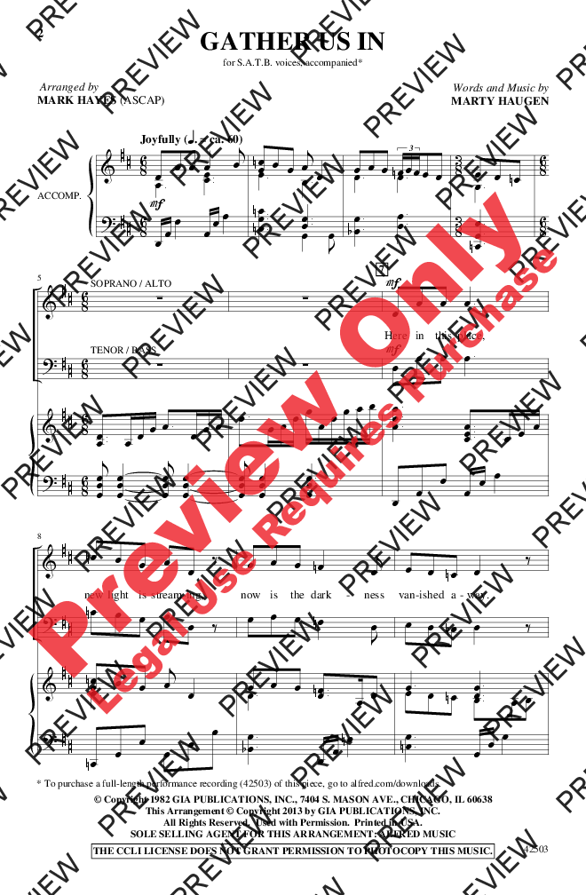Gather us in satb by marty haugenarr ma jw pepper sheet music marty haugenarr mark hayes jubilate music group llc fandeluxe Image collections