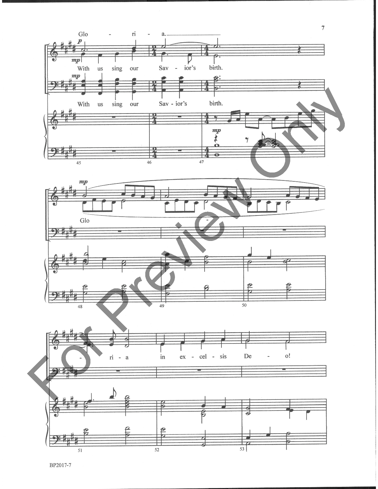 angels we have heard on high satb pdf