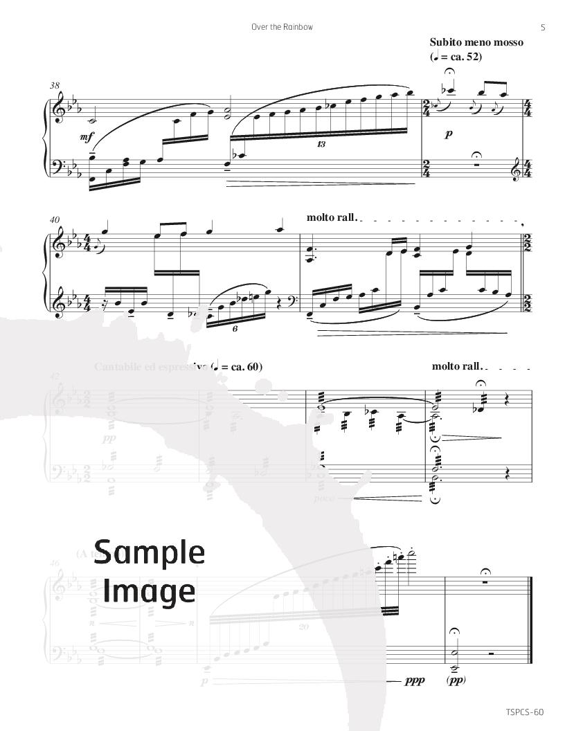 somewhere over the rainbow music sheet pdf