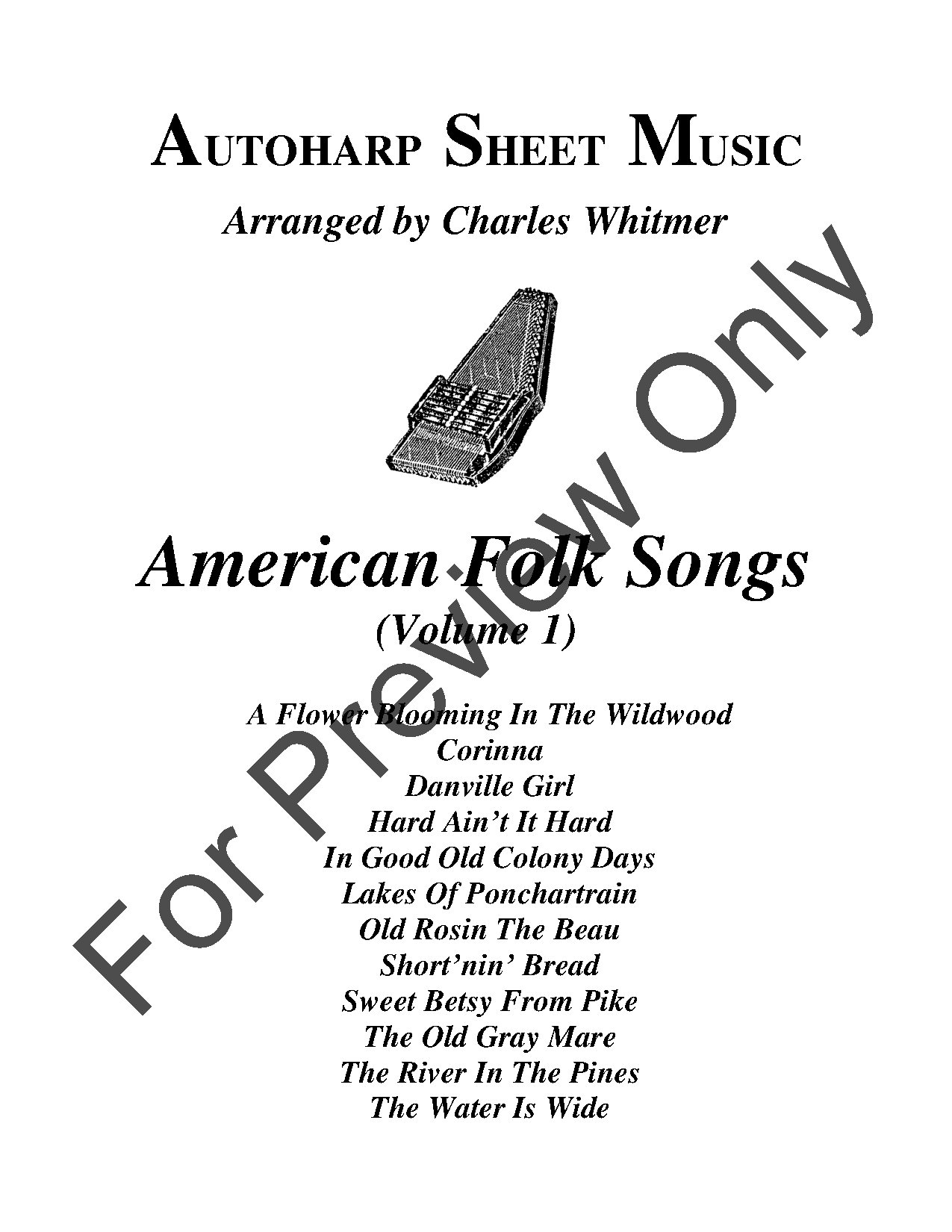 American Folk Songs, Vol. 1 Thumbnail