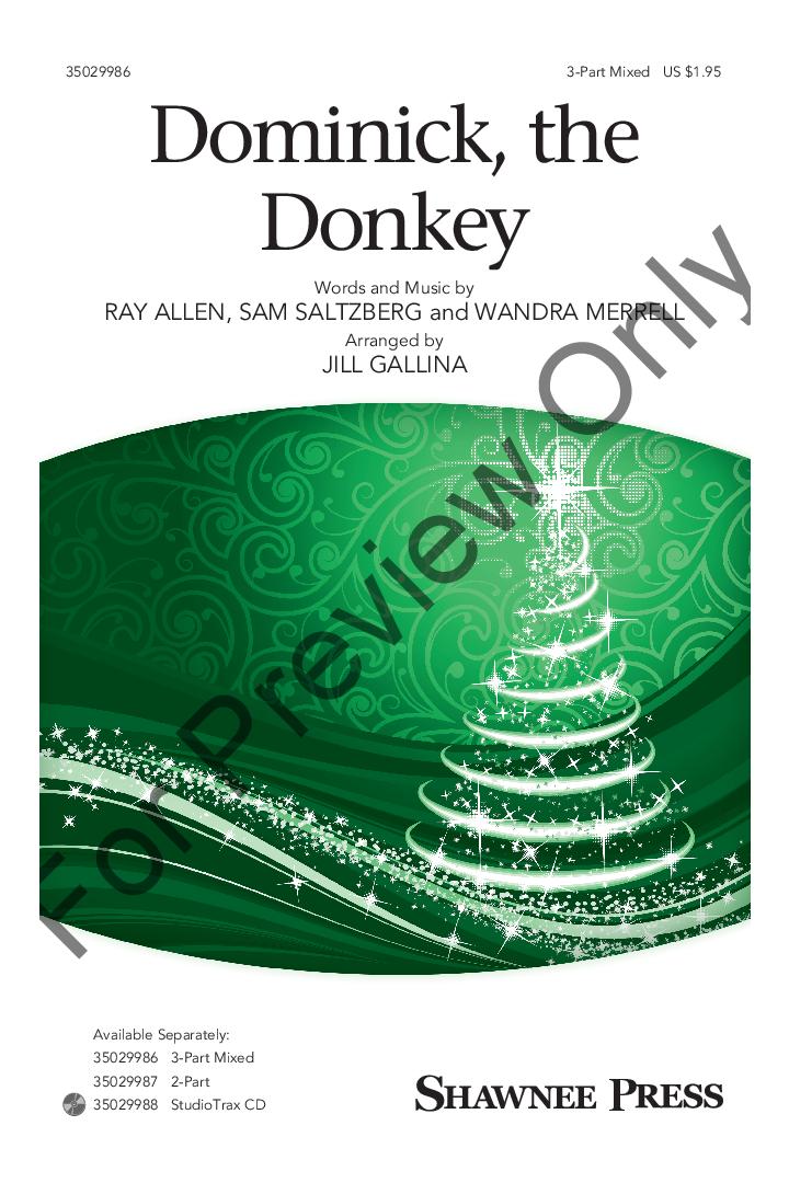 dominick the donkey thumbnail dominick the donkey thumbnail - Dominick The Christmas Donkey Lyrics