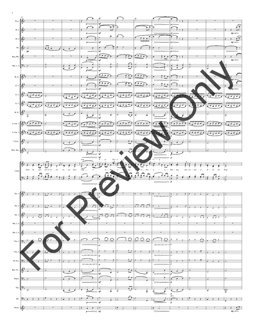 Christmas Lullaby by John Rutter/arr. Paul Noble| J.W. Pepper Sheet ...