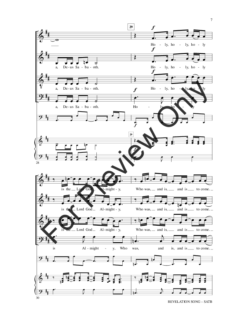 Revelation Song Sheet Music Bogasrdenstaging
