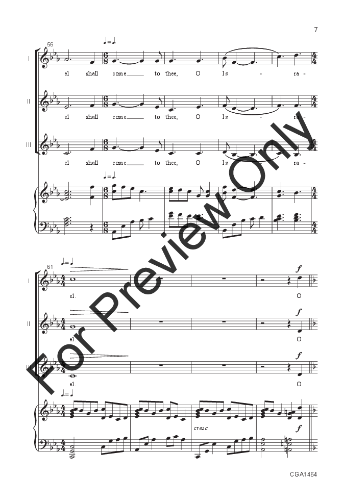 O Come, O Come Emmanuel (SA ) arr. Jill Frie | J.W. Pepper Sheet Music