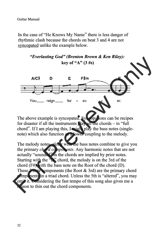 Guitar Tips By Ric Flauding Jw Pepper Sheet Music