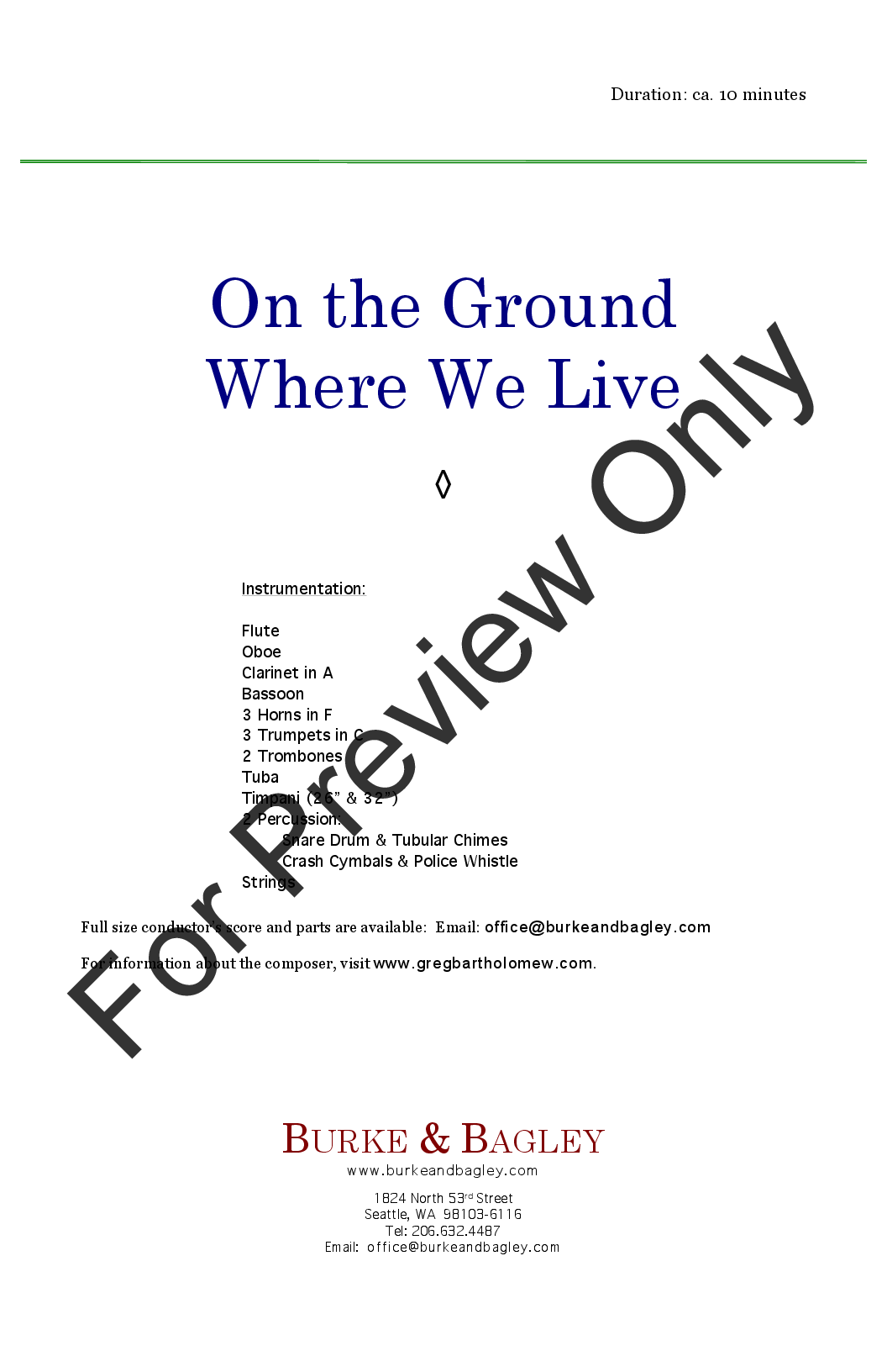 On the Ground Where We Live Thumbnail