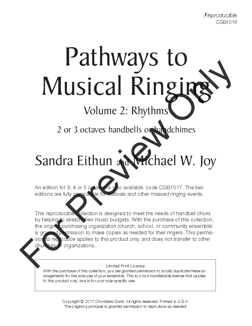 Pathways to Musical Ringing Thumbnail