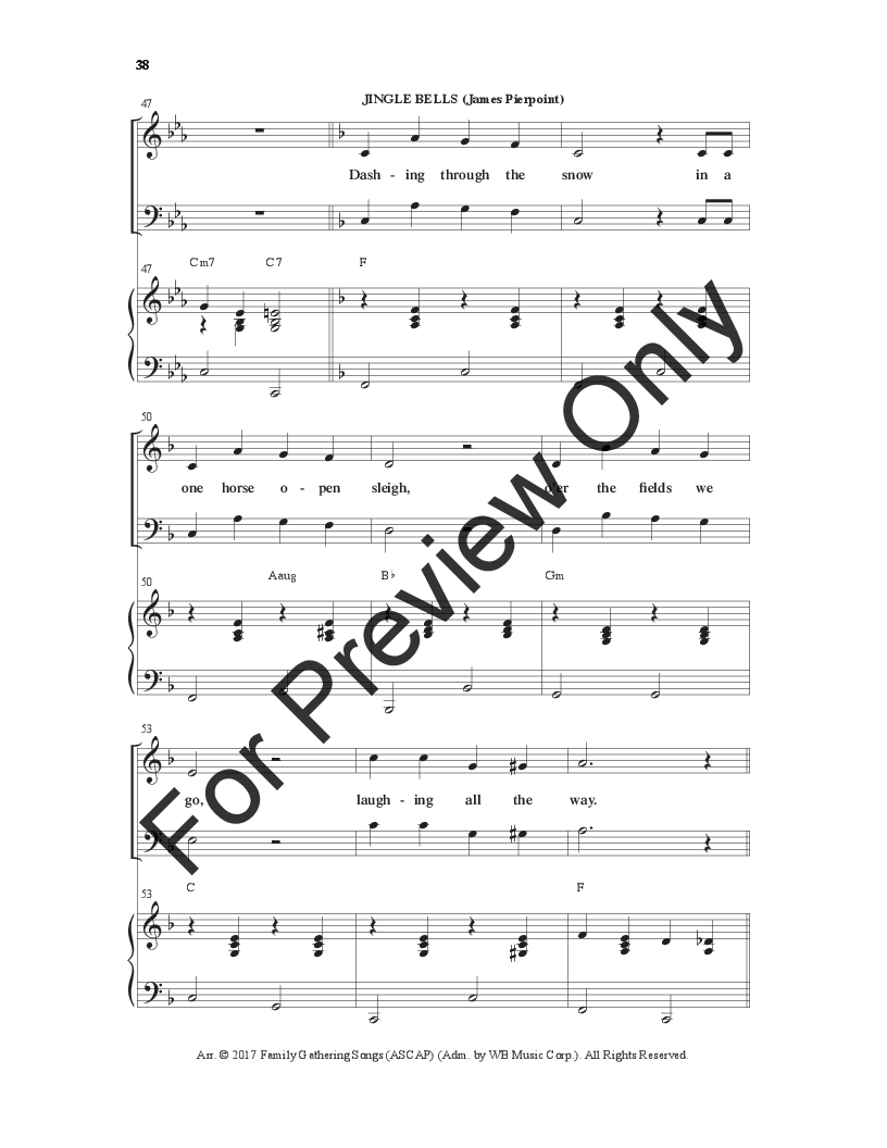 Christmas Is In The Heart Satb Choral Score Jw Pepper Sheet Music
