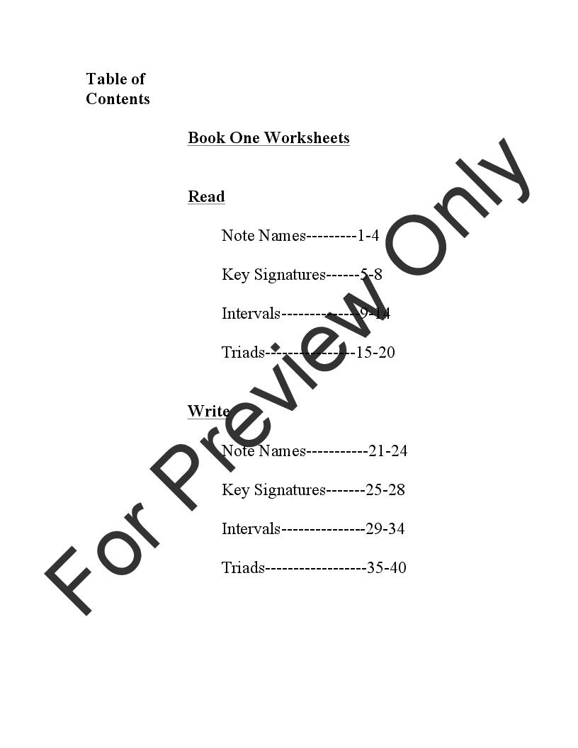 Music Theory Worksheets Volume 1 Flexible Instru Jw Pepper