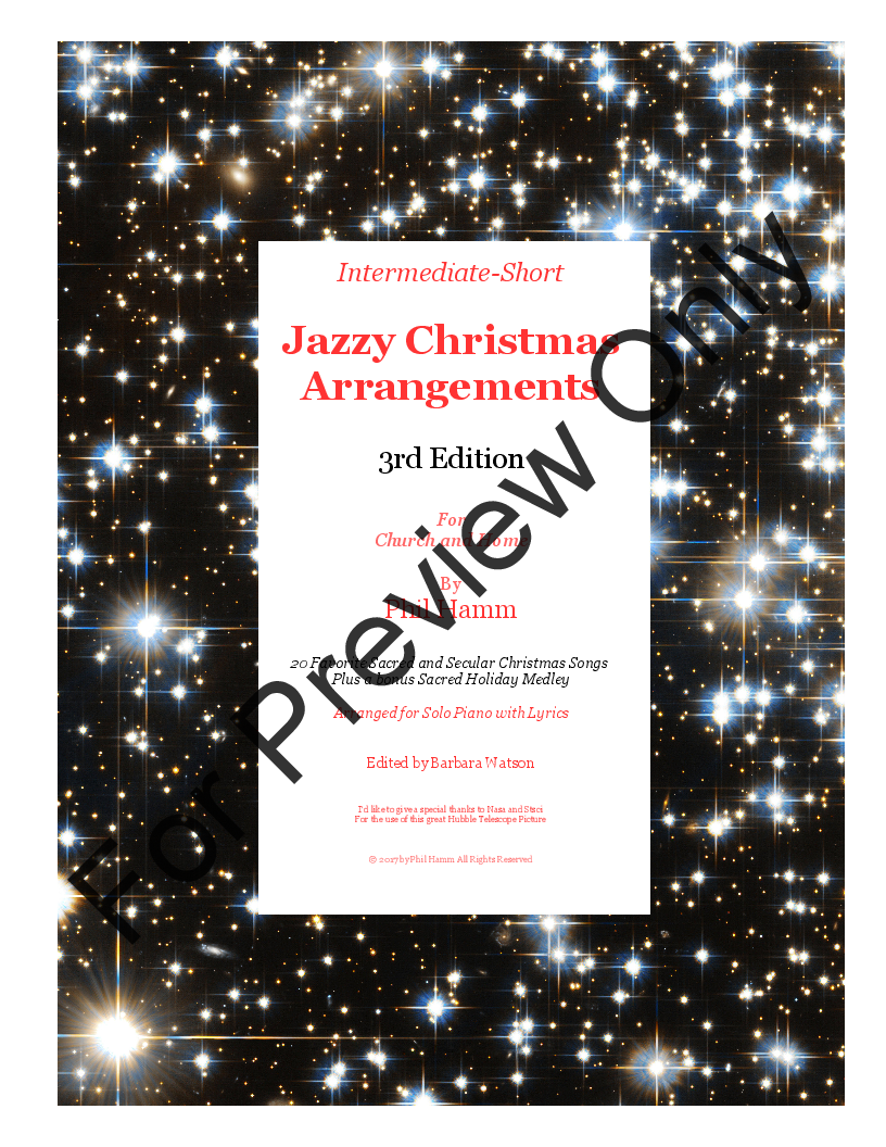 Jazzy christmas arrangements 3rd edition by vario jw pepper various phil hamm phil hamm music stopboris Images