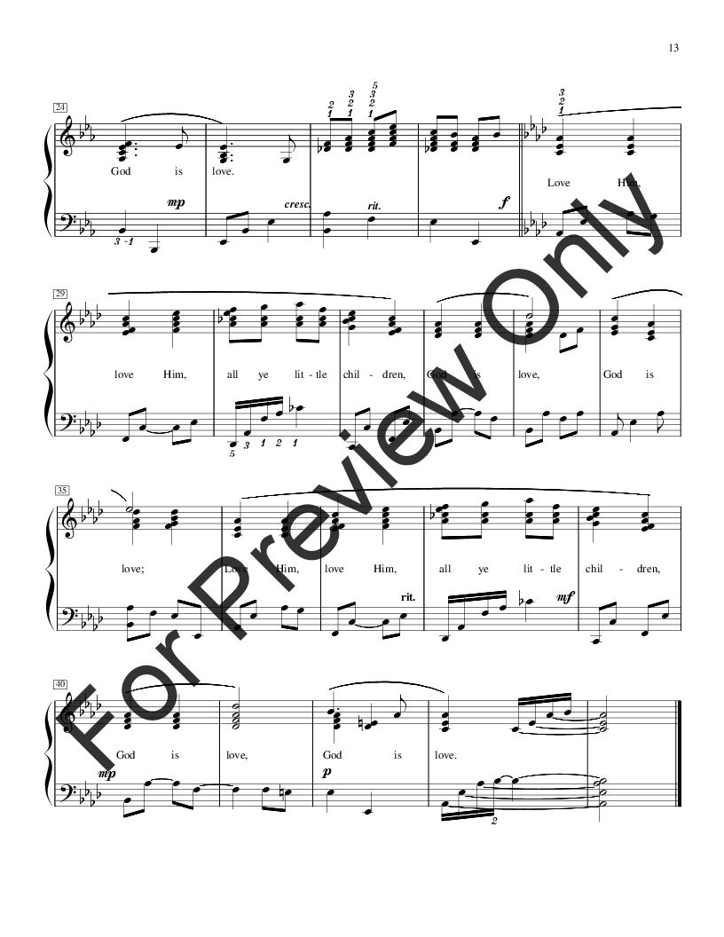 Jazzy Hymn Arrangements Book Three By Various P Jw Pepper