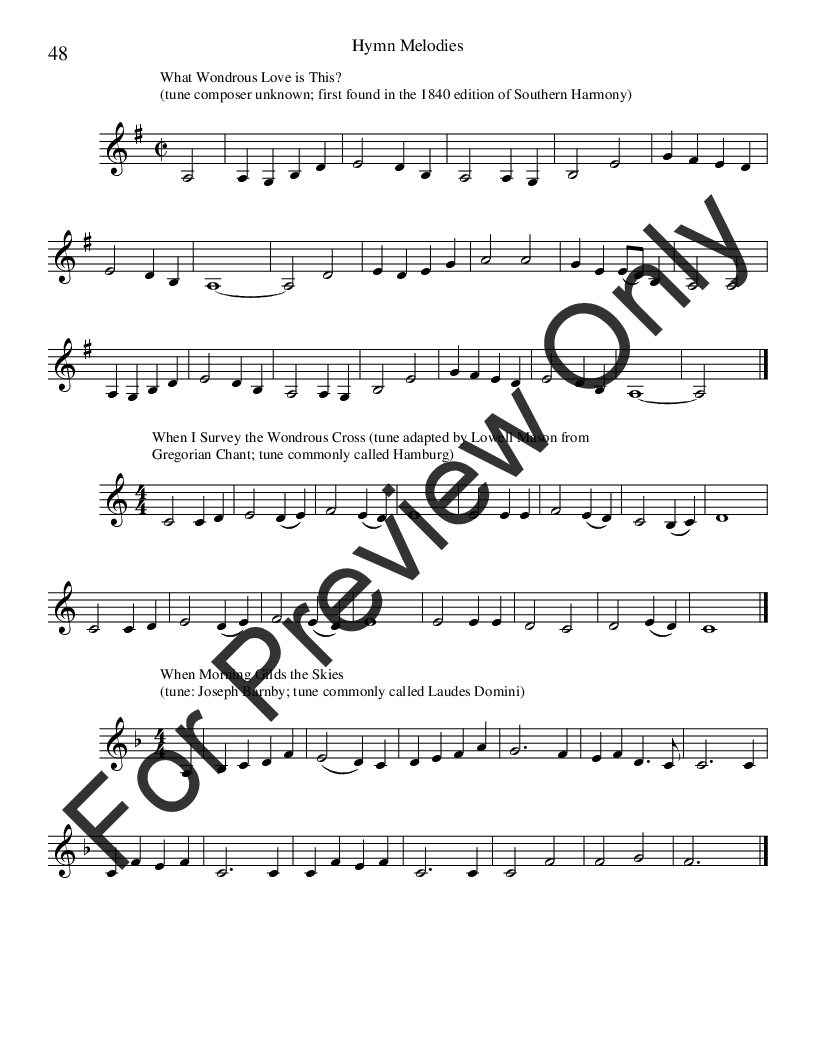 Hymn Melodies F Instruments Book By Jw Pepper Sheet Music