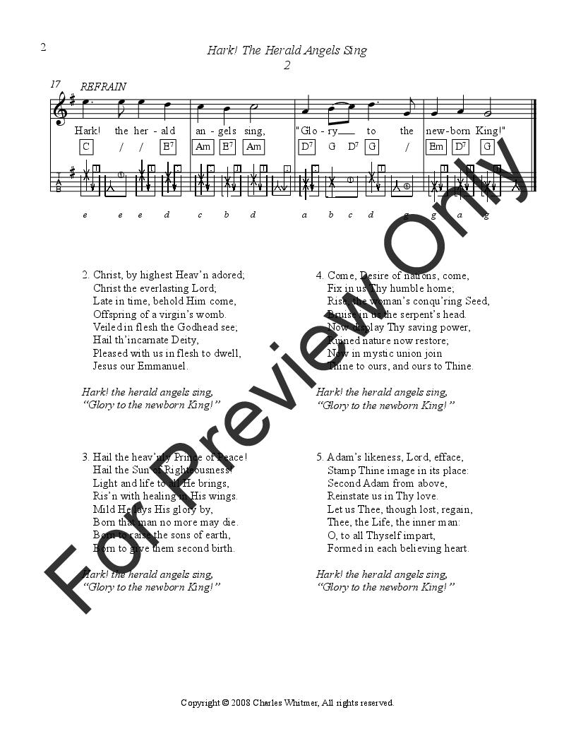 Christmas Songs, Volume 1 by Charles Whitmer| J.W. Pepper Sheet Music