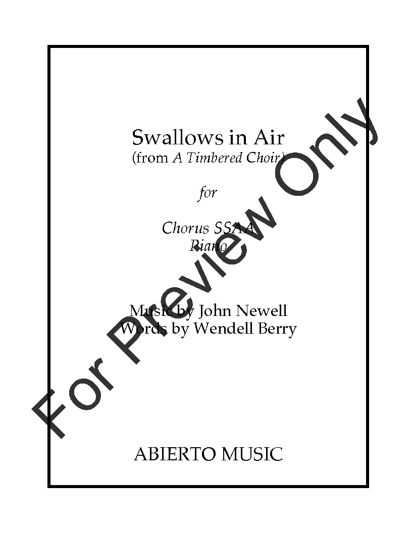Swallows in Air Thumbnail