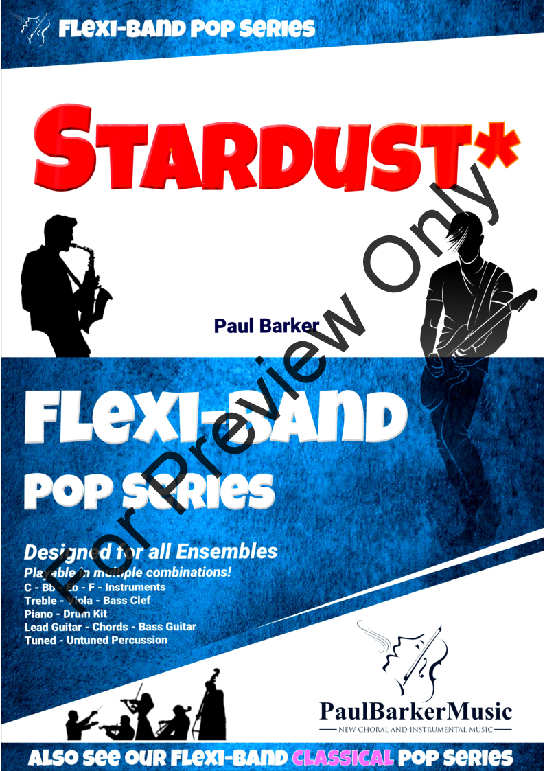 Stardust By Paul Barker Jw Pepper Sheet Music