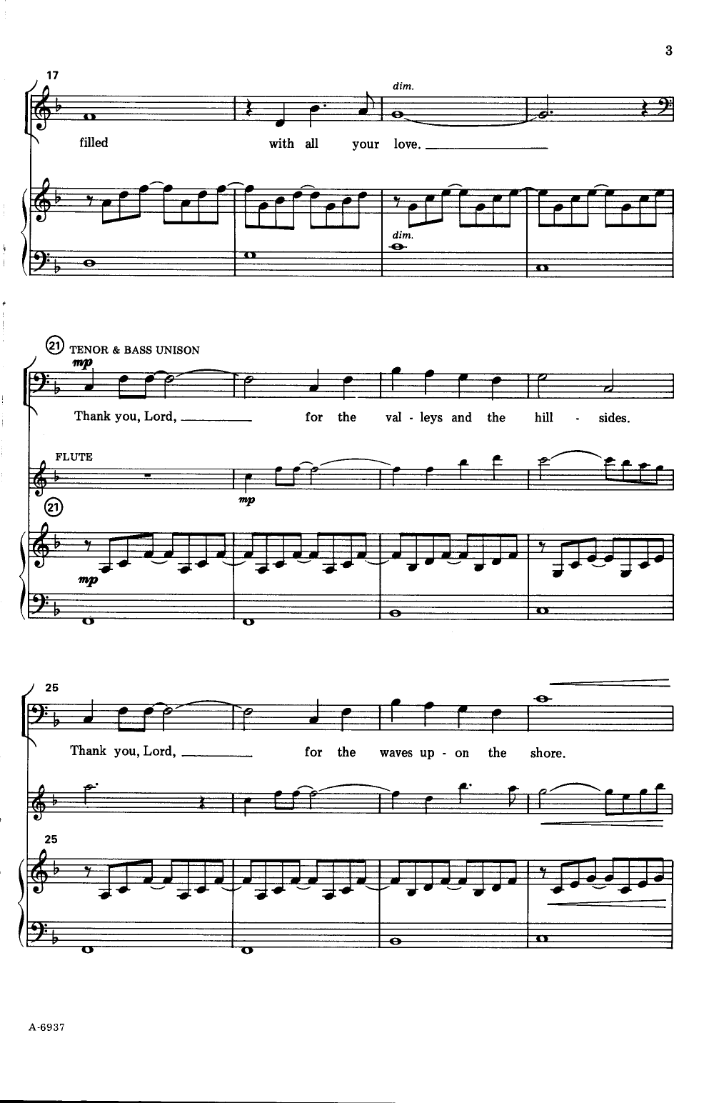 thank you lord sheet music pdf