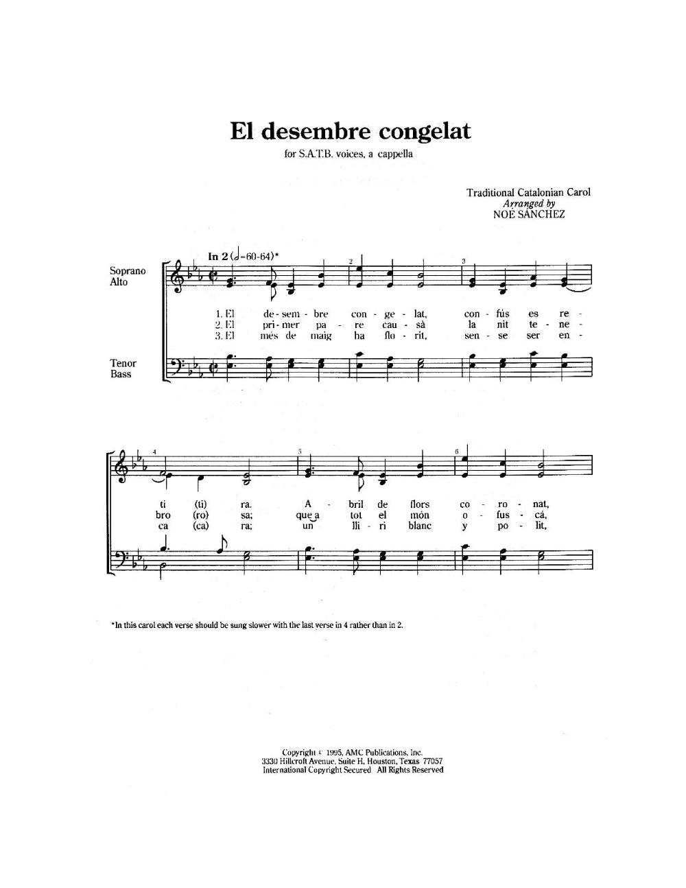 four spanish christmas carols thumbnail